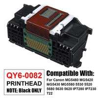 QY6 0082 głowicy drukującej głowica drukująca do Canon iP7220 iP7240 iP7250 iP7280 MG5420 MG5450 MG5480 MG5520 MG5550 MG6400 MG6420 MG6450 w Części drukarki od Komputer i biuro na