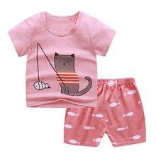 Bebê camiseta crianças verão meninos e meninas roupas de bebê para manga curta RCFS-50006-15