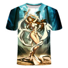 3d Man Angel Hugh Short Sleeve Fashion Rock Cool Creativity t shirt streetwear tshirt mens tee