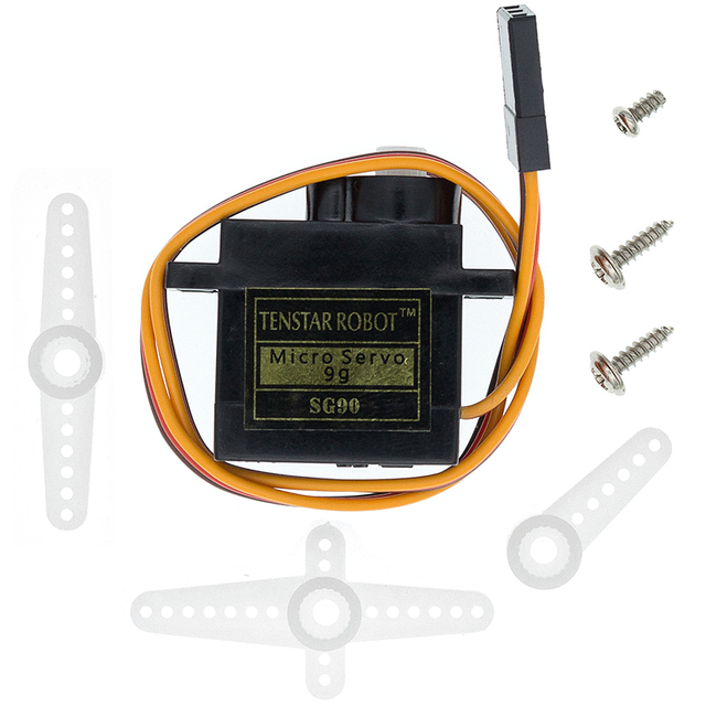 SG90 Pro 9g Micro Servo for Airplane Aeroplane 6CH rc Helcopter kds esky align Helicopter sg90|Integrated Circuits|   -