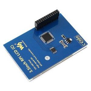Image 3 - Ahududu Pi 4 Model B/3B +/3B 3.5 inç dokunmatik ekran TFT LCD için tasarlanmış, 125MHz yüksek hızlı SPIi, 480x320PX, XPT204