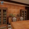 3D Wand Aufkleber Europäischen Stil Leder Geschnitzt Weichem Pack Wasserdichte Kinderzimmer Antikollision Selbst Klebe Tapete Enviro-in Schalterabdeckungen aus Heim und Garten bei