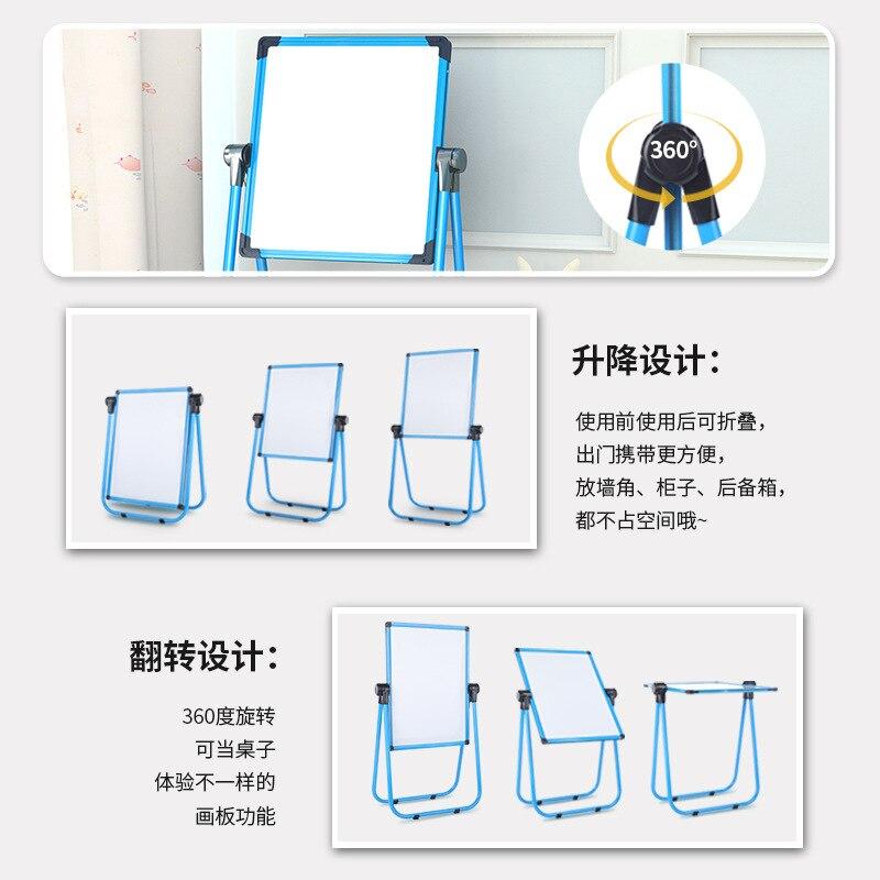 Children Drawing Board Magnetic Graffiti Branch Baby Small Blackboard Xie Zi Jia Type Household Whiteboard Pen Have Alloy Dust-F