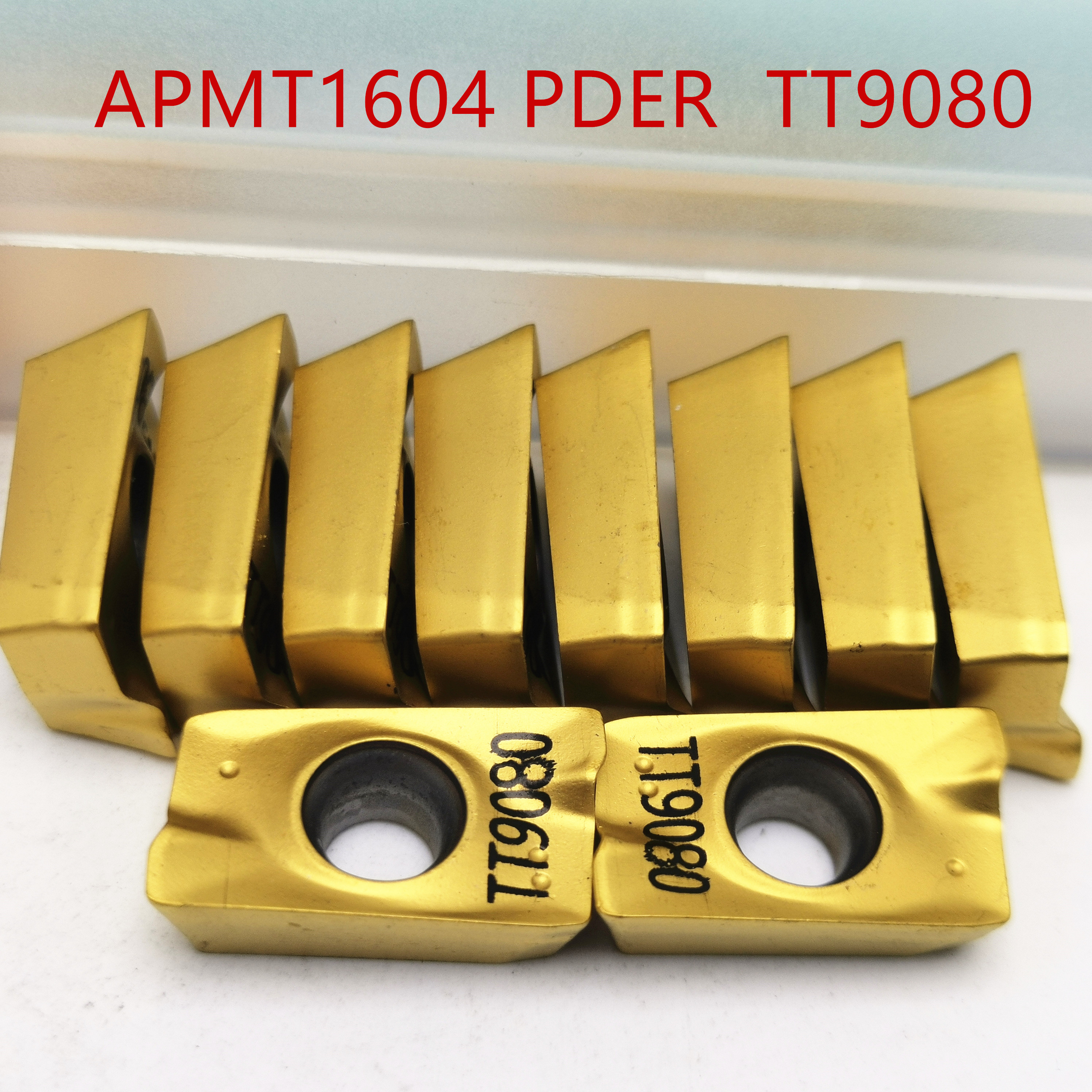 Tungsten Carbide APMT1604 TT9080 Carbide Inserts Turning Tool APMT 1604 Face Mill Lathe Tools Milling Cutter CNC Tool