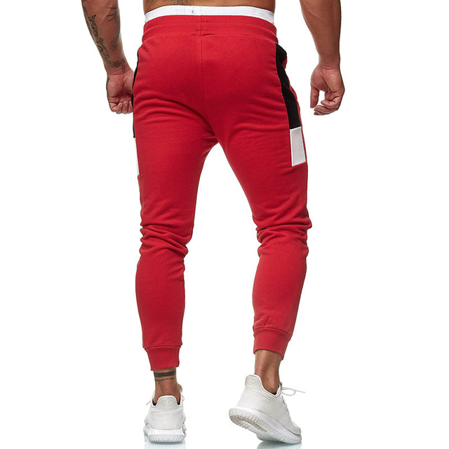 Men's Fitness Training Large Size Sports Warm Pants  4