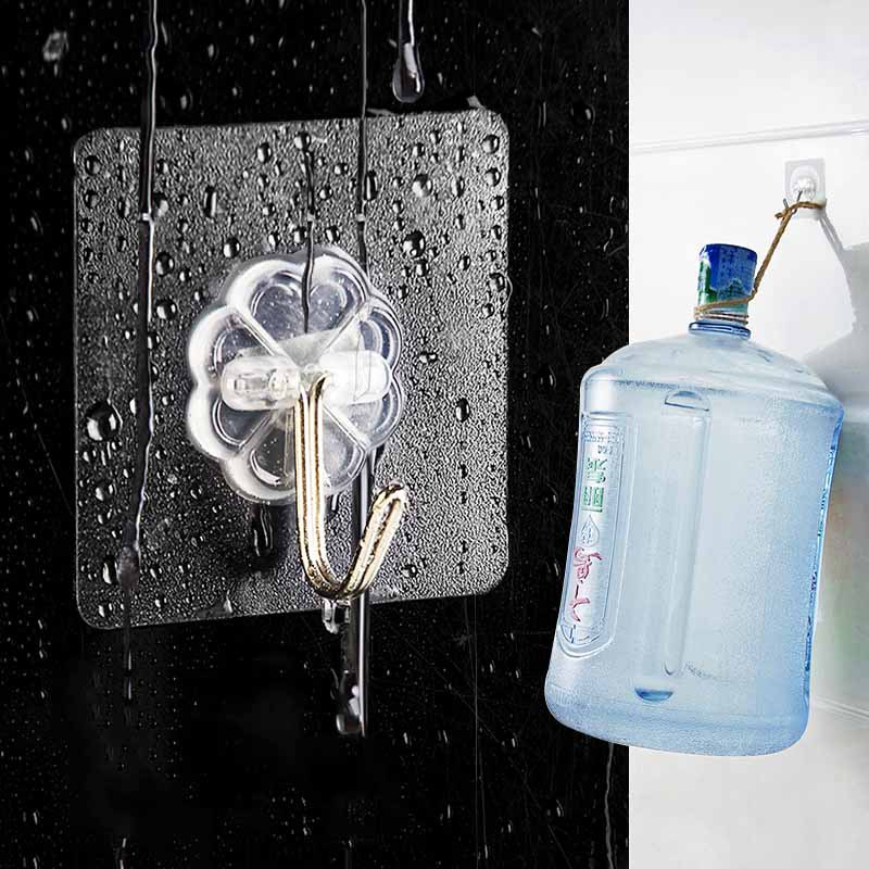 1Pcs Clear Sucker Suction Cups Button High-end Wall Hooks Suckers Transparent