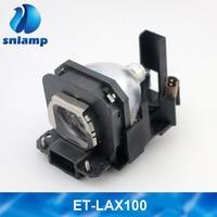 ET LAX100 Lax100 for Panasonic AX100 AX100E AX200 AX200E PT AX100 PT AX100E PT AX200 PT AX200E Projector Lamp Bulb with Housing