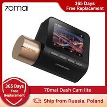 70mai kamera na deskę rozdzielczą Lite 1080P 70mai Lite wideorejestrator samochodowy 24H Monitor do parkowania 70mai Lite wideorejestrator samochodowy