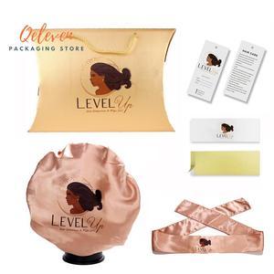 Роскошные женские пряди комплекты упаковки для наращивания волос, подушки, повязки на голову, капота, обертывания, бирки для париков