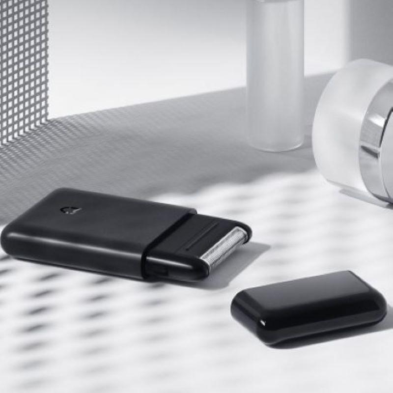 Электробритва Xiaomi, Мужская бритвенная машинка, Парикмахерская бритва, нож с одним краем, зарядка в автомобиле, длительное время ожидания, вода, полоскание|Электробритвы|   | АлиЭкспресс