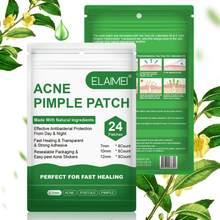 Elaimi 24 remendos/saco invisível remoção da acne tratamento de remendo da espinha acne corretivo rosto manchas cuidados com a cicatriz adesivos