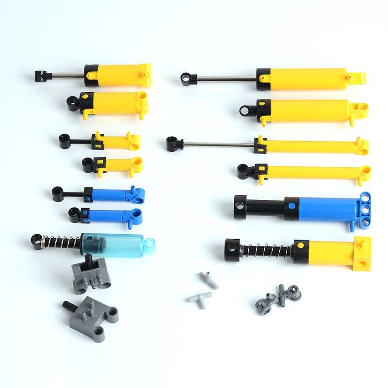 Peças de técnica peça 19482 bomba pneumática 1x6 com tomada pisada [v2] blocos peças de tijolo apto para 26674 moc partículas brinquedos