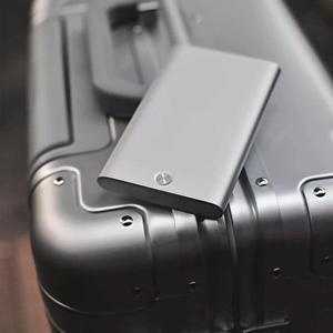 Image 3 - Novo youpin miiiw titular do cartão de aço inoxidável prata alumínio caso de cartão de crédito caso de cartão de identificação