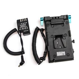 Image 3 - WY VG1 Power Supply System V Mount Battery Plate Adapter with DMW DCC12 Cable for Broadcast SLR HD camera