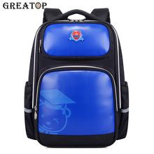 GREATOP New Children Oxford School Bags Boys Girls Kids School Backpacks Waterproof Backpacks primary school bags student bags cheap zipper 0 9kg 41cm 2247 unisex 16cm 31cm
