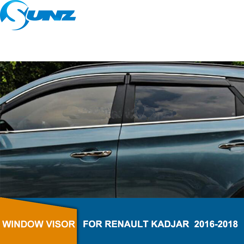 Coche ventana Deflector del Visor para Renault Kadjar Dynamique 2016, 2017 de 2018 sol sombra toldos refugios guardias auto accesorios riovalle   energía