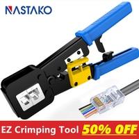 NASTAKO RJ45 Werkzeug EZ rj45 crimp werkzeug rj45 crimper zange RJ11 RJ12 Cat5 Cat6 Kabel Stripper 8P/6P multi netzwerk kabel werkzeug|tong|tongs tool  -