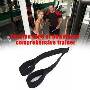 Трицепс тренировочное устройство веревка нажимной шнур тянущийся вниз бицепсы боковые тренажеры для фитнеса бодибилдинга упражнения для мышц