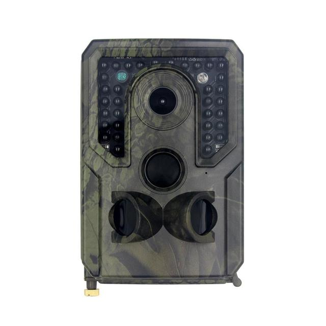 Outdoor Trail Camera 12MP 1080P HD IP56 Waterproof Game Wild Scouting Dash Cam With 120 Degree Wide Angle Lens And Night Vision