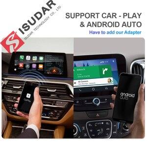 Image 3 - Isudar H53 samochód odtwarzacz multimedialny 2 Din radio samochodowe z systemem Android dla Audi/A4/S4 2002 2008 GPS DVD 8 rdzeń pamięci RAM 4 GB ROM 64 GB DVR DSP