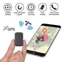Minirastreador inteligente con GPS para niños, localizador de vehículos GSM, grabación en tiempo Real, alarma de voz, dispositivo magnético de seguimiento de Antipérdida para niños