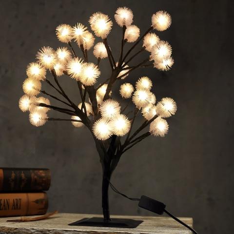 mini led luzes da arvore de cereja