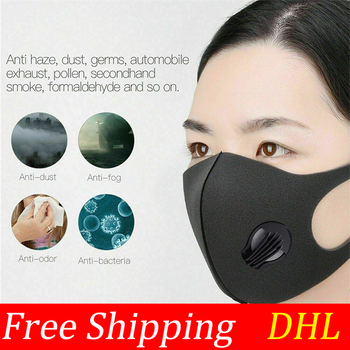 3/6pcs Fashion Child Mouth Mask,Unisex PM2.5 Pollen Anti Dust Mask Anti Pollution Mask Elastic Earloop Face Mouth Mask Reusable