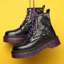 Женские туфли на платформе и каблуке; Модные ботинки размера