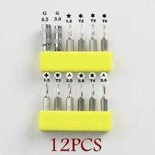 6-12PCS Precision screwdriver 3/25