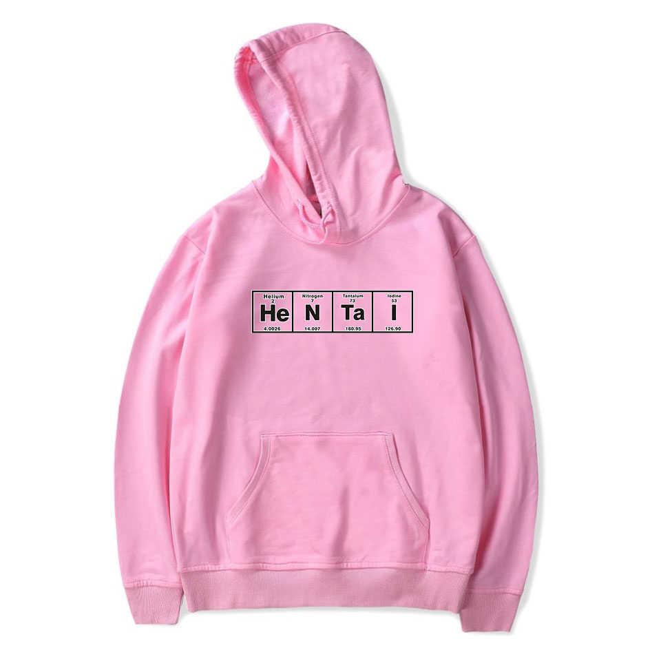 헨타이 인쇄 후드 여성/남성 긴 소매 후드 티 스웨터 2020 뜨거운 판매 애니메이션 캐주얼 Streetwear 옷