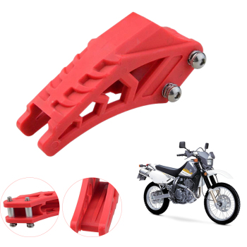 420 428 Chain Guide Chain Guard Fit for CRF 250 R EXC CRF YZF KXF KTMX for BSE Bosuer Dirt Bike Pit Bike Red