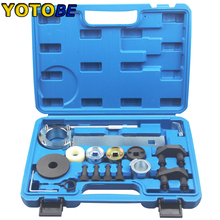 Engine Camshaft Locking Alignment Timing Tool Kit For Audi VW 1.8 2.0 TFSI EA888 professional engine camshaft locking clamp timing tool set for vw audi
