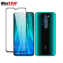 2 in 1 Camera Glass Screen Protector For Xiaomi Redmi note 8 7 5 6 Pro Tempered 7A 6A K20 Protective