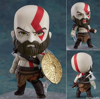 God of War  Kratos Cute Action Figure Collectible Model Toys 1