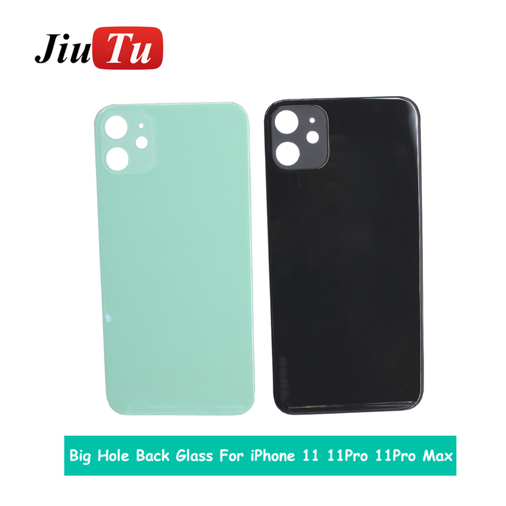 Back Cover Glass Rear Housing For iPhone X 8 Plus XS XSMAX Rear Door Body Assemble Housing with big hole (6)