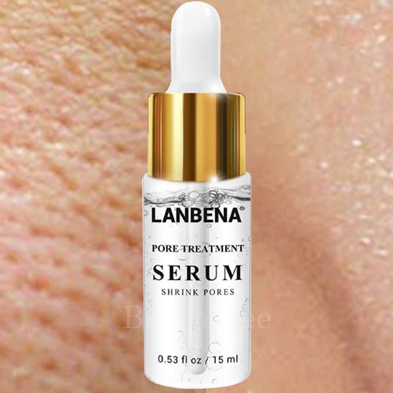 Cosmetics Men Clean Blocked Oily Pores Lanbena Shrink Poros Treatment For Removing Black Dot Serum Lambena Poro Anti-acne LABENA