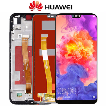 For Huawei P20 Lite LCD Display +Touch Screen Digitizer Assembly Replacement for Huawei Nova 3E LCD Screen 5.84inch With Frame