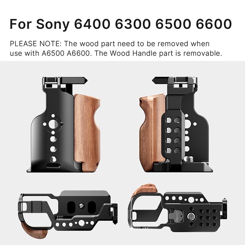 UURig метална клетка за камера за Sony A6300 - Камера и снимка - Снимка 2