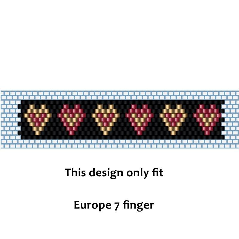 FAIRYWOO Heart Ring Miyuki Jewelry DIY Jewelry Making Kit For Women Hot Sale Rings Kit Luxury Bead Handmade Beaded Accessories