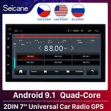 Seicane 2ギガバイトのram 32ギガバイトromアンドロイド9.1 2Dinユニバーサルカーラジオgpsマルチメディアプレーヤー日産起亜RAV4ホンダvw
