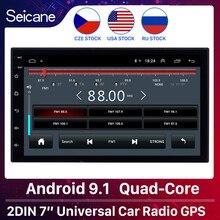 Seicane 2GB RAM 32GB ROM Android 9,1 2Din Universal Auto Radio GPS Multimedia Player Für TOYOTA Nissan Kia RAV4 Honda VW Hyundai