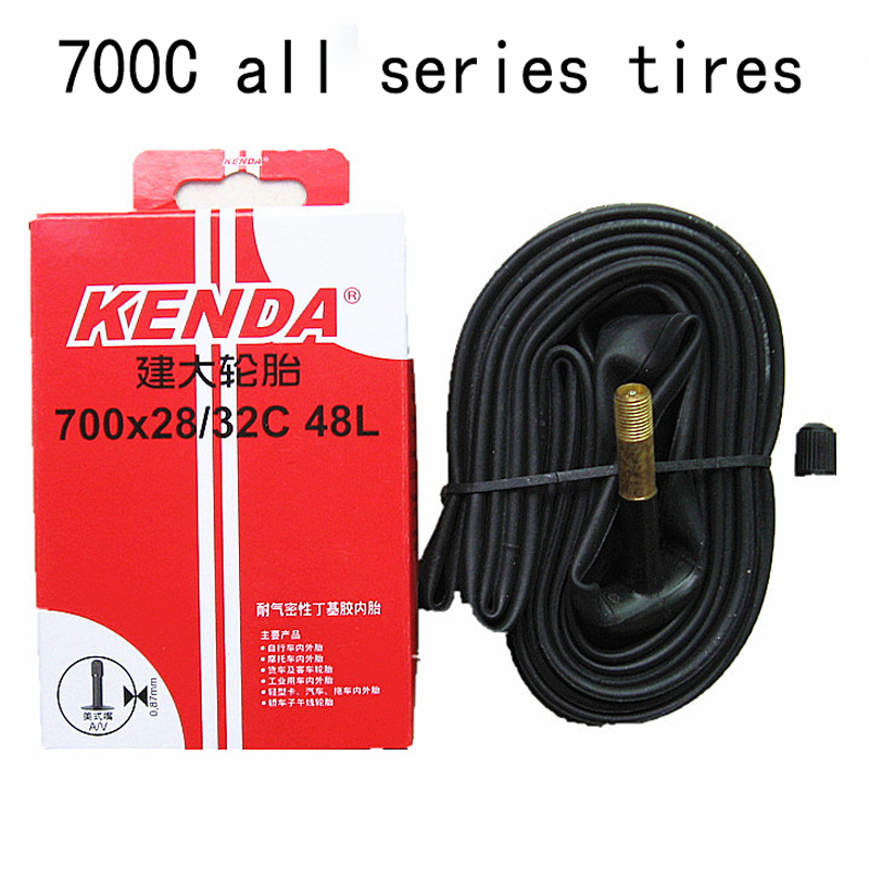 70CC bicycle tire American valve (A/V) French valve (F/V) <font><b>700</b></font>×<font><b>23c</b></font> 25c 28/32c 35/43 38 inner tube Bicycle tire accessories image