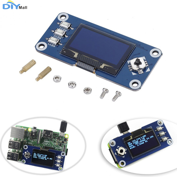 Waveshare 1.3inch OLED Display HAT Expansion Board for Raspberry Pi 2B/3B/Zero/Zero W 128x64 Pixels SPI I2C Interface SH1106 waveshare tiny gamepi15 game console for raspberry pi zero zero w zero wh b 2b 3b 3b 1 54inch screen 240 240 resolution