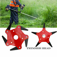 1pc 6 Blades Grass Trimmer Head Brush Cutter 65Mn Brush Cutting Head Garden Power Tool Accessories for Lawn Mower