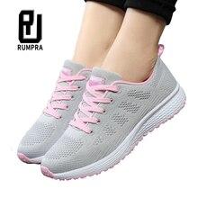 Спортивная обувь для женщин; обувь для тенниса; коллекция года; модные кроссовки на плоской подошве со шнуровкой из дышащего сетчатого материала; Повседневная обувь; Calzado Deportivo Mujer