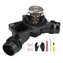 Термостат с Корпус комплект Подходит для BMW E46 E39 E83 E53 E60 320I 323I 325Ci 325I 330I черный