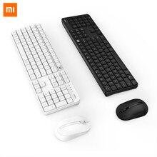 Xiaomi MIIIW Ufficio 104 Tasti Tastiera Wireless Set di Mouse Senza Fili 2.4GHz Multi Sistema Compatibile Senza Fili Ufficio Vestito
