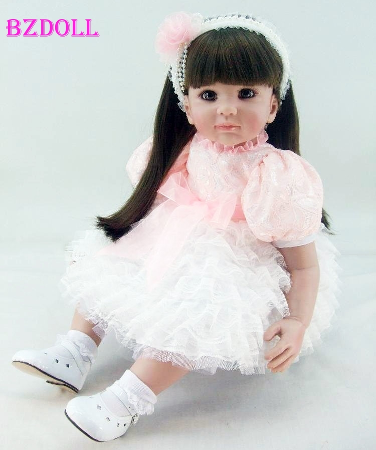 24/'/' Realistic Toddler Reborn Dolls Lovely Baby Girl Doll Kids Birthday Gift Toy