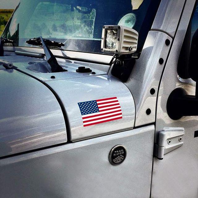 US American Flag - Sticker 4