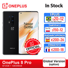 Rom mondiale Oneplus 8 Pro 5G OnePlus boutique officielle Smartphone Snapdragon 865 8G RAM 128G ROM 6.78 ''120Hz écran; Code français: FRMAY018(€200-18)FRMAY013(€150-13)